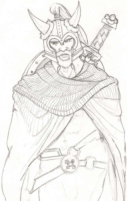 Beowulf sketch images reverse search for Beowulf coloring pages